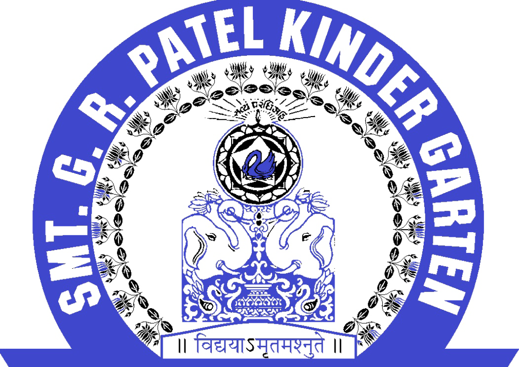 Smt. G.R. Patel Kindergarten Logo