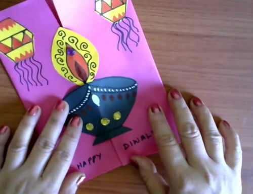 Diwali Card Making